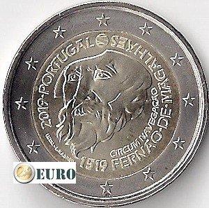 2 euros Portugal 2019 - Fernando de Magallanes UNC