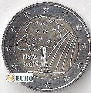 2 euro Malta 2019 - Naturaleza y Medio Ambiente UNC
