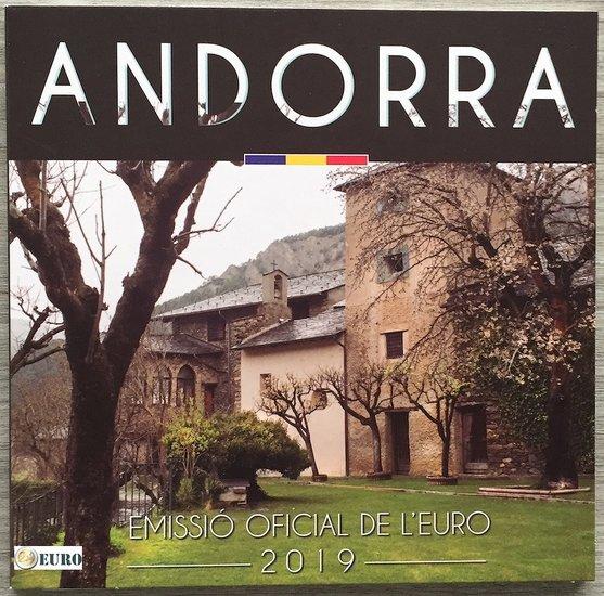 Serie de euro BU FDC Andorra 2019