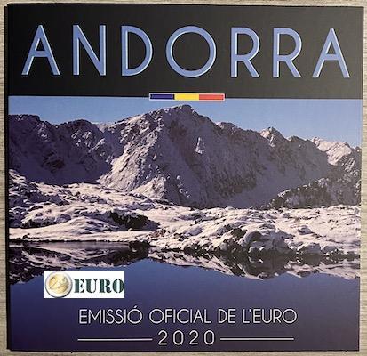 Serie de euro BU FDC Andorra 2020