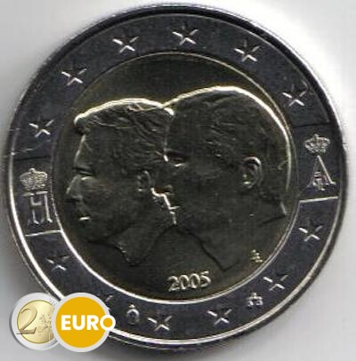 2 euro Bélgica 2005 - UEBL UNC