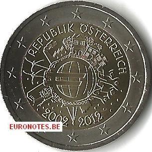 Austria 2012 - 2 euro 10 years euro UNC