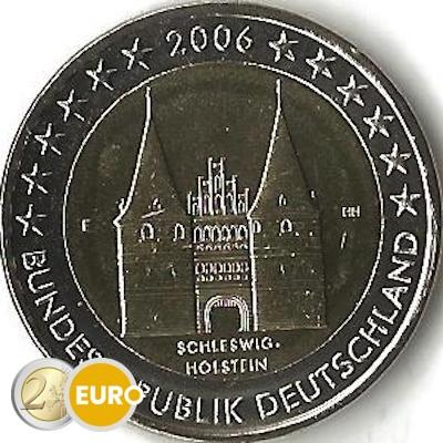 Alemania 2006 - 2 euros F Schleswig-Holstein UNC