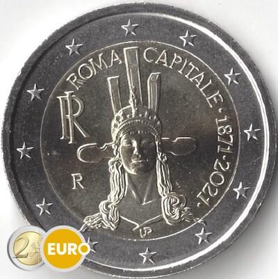 2 euros Italia 2021 - 150 años Roma capital UNC