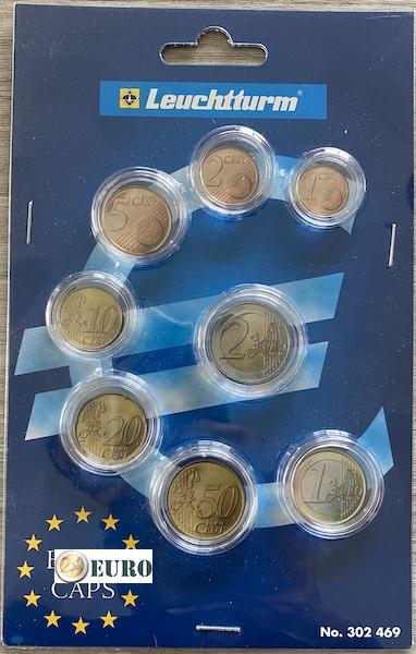 Leuchtturm 302469 - Cápsulas series de euro