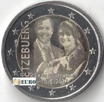 2 euros Luxemburgo 2020 - Carlos de Luxemburgo UNC foto