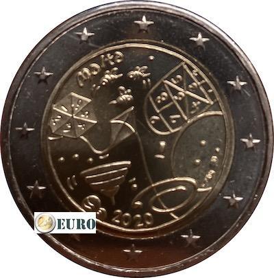 2 euros Malta 2020 - Juegos UNC marca monetaria MdP