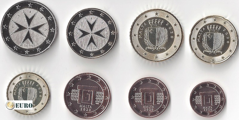 Serie de euro UNC Malta 2020