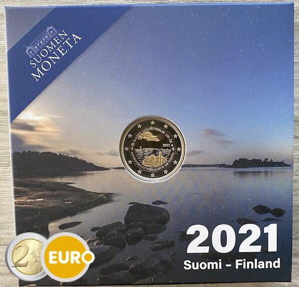 2 euros Finlandia 2021 - islas Aland BE Proof
